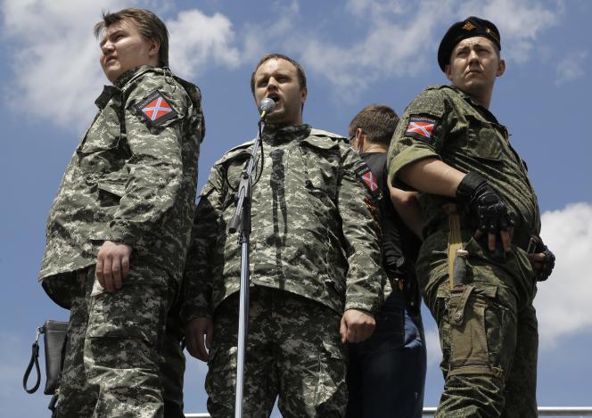 Pavel Goubarev, «gouverneur» de Donetsk, le 22 juin.