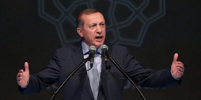 Recep Tayyip Erdogan, le 18 juillet.