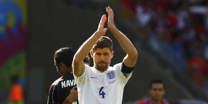 Steven Gerrard, ici le 24 juin.