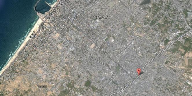 La ville de Chadjaiya, en banlieue de Gaza.