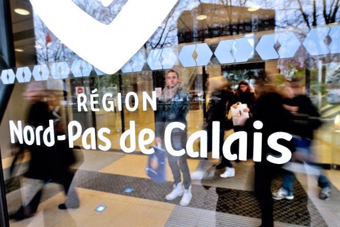 Conseil régional du Nord-Pas-de-Calais, le 16 janvier.