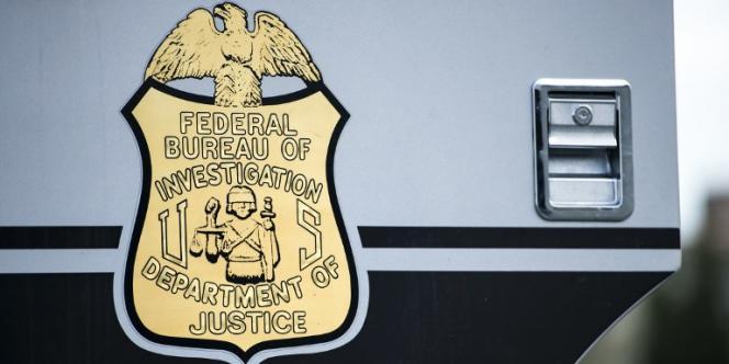 Logo du FBI, Federal Bureau of Investigation.