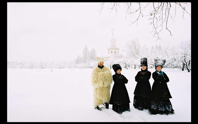 Le groupe ukrainien DakhaBrakha.