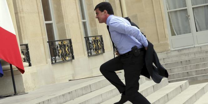 Le premier ministre, Manuel Valls, à l'Elysée, le 21 juillet.