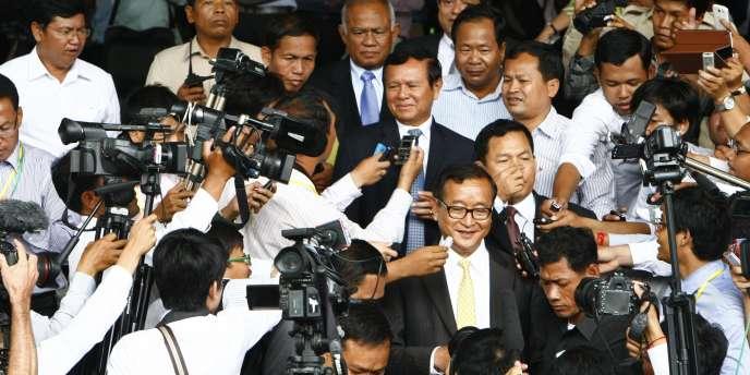 Les leaders cambodgiens ont indiqué être arrivés à un compromis de sortie de crise, le 22juillet.