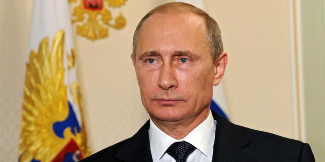 Le président russe Vladimir Poutine le 21 juillet dans sa résidence près de Moscou.