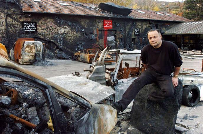Thierry Ehrmann, fondateur d'Artprice, en novembre 2004.