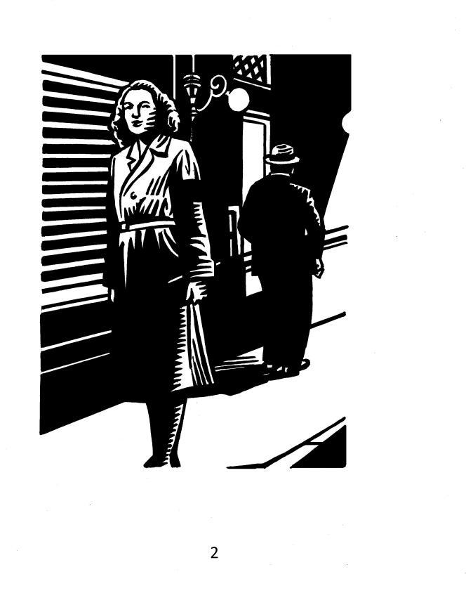 Illustration « Sur mes gardes », de Franz Bartelt, illustré par Honoré.