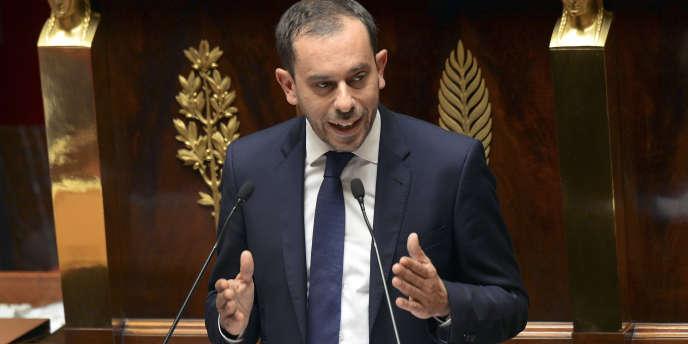 Le rapporteur du texte sur la réforme territoriale Carlos Da Silva, à l'Assemblée le 16 juillet.