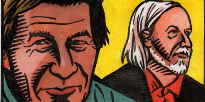 Franz Bartelt et Honoré vus par Honoré