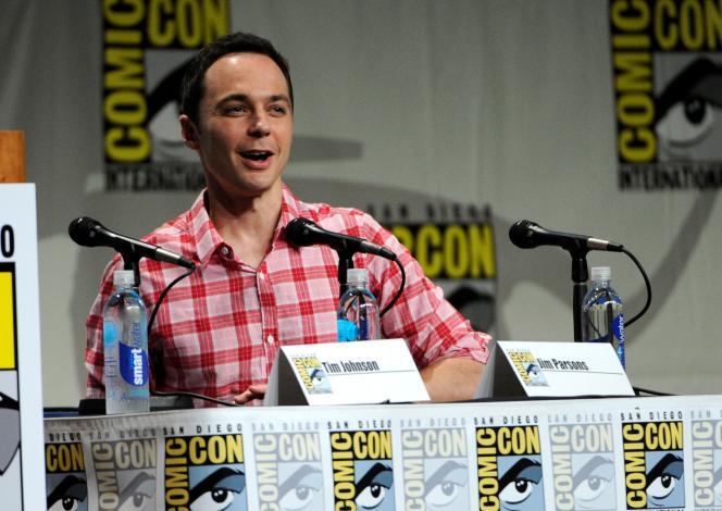 Jim Parsons, Sheldon, dans