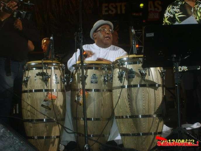 Orlando Poleo, le percussionniste vénézuélien.