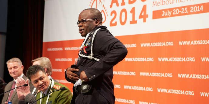 20ème conférence internationale sur le sida. Les policiers s'engagent dans la prévention