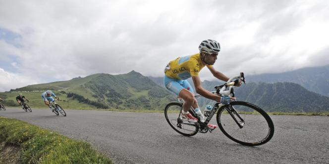 Vincenzo Nibali, le 23 juillet 2014.