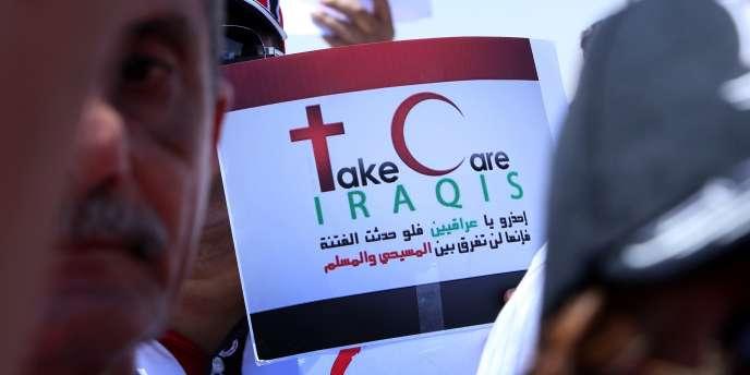 La responsable de l'ONU a indiqué par ailleurs qu'il ne restait plus « qu'une vingtaine de familles chrétiennes à Mossoul », soutenues par des ONG telles que Caritas.