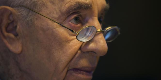 Shimon Pérès, le 24 juillet.