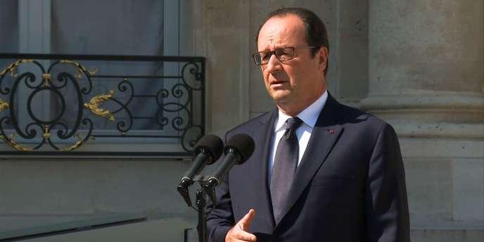 Le président de la République, François Hollande.