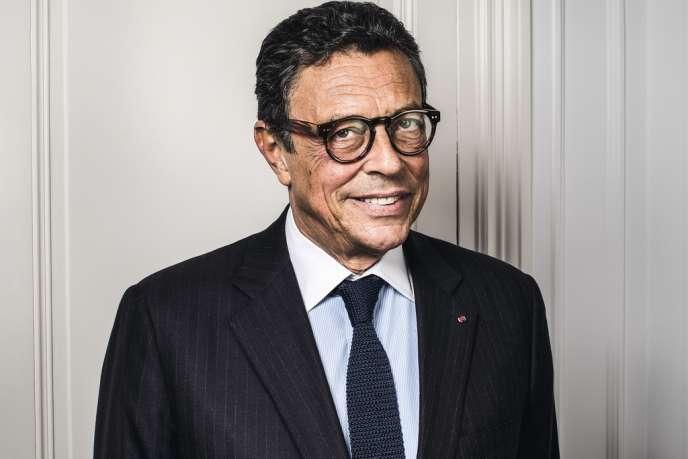 L'avocat d'affaires Jean-Michel Darrois, 67 ans.