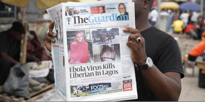 Le Nigeria est en effet passé en état d'alerte, samedi 26 juillet, après l'annonce d'un premier cas mortel du virus, survenu la veille.