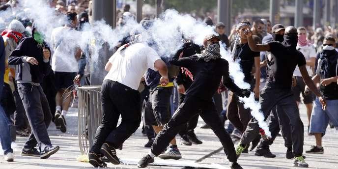 Quelques incidents sont venus émailler la manifestation propalestinienne qui s'est déroulée samedi à Paris.