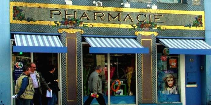 La pharmacie du point central, à Nancy.