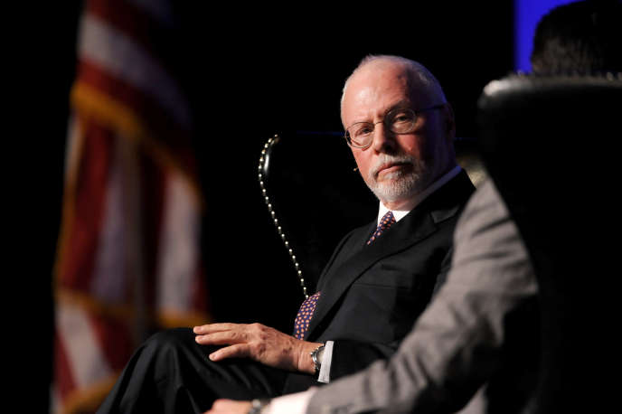 Paul Singer, fondateur et président du fonds Elliott Management, à Las Vegas (Nevada), en 2012.