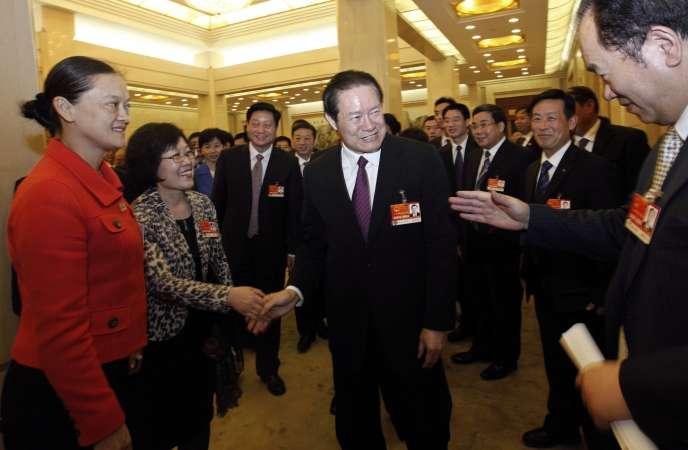 L'ancien chef des services de sécurité intérieure chinois Zhou Yongkang.