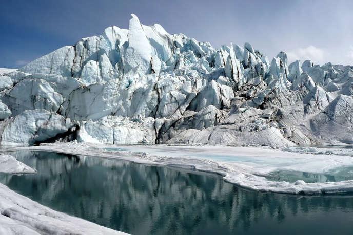 Le glacier Matanuska.