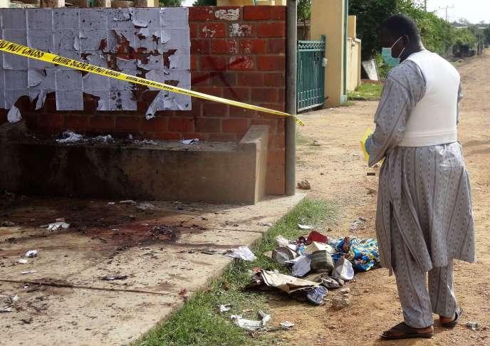 L'attentat n'a pas été revendiqué mais les soupçons se portent une nouvelle fois sur Boko Haram.
