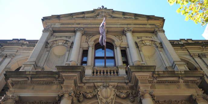 La Cour suprême de l'Etat de Victoria, en Australie. C'est cette cour qui a émis l'ordonnance contraignant au silence les médias australiens.