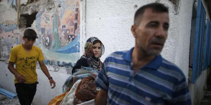 L'opération « Bordure protectrice » contre les attaques de roquettes du Hamas tirées de Gaza dure depuis plus de trois semaines.