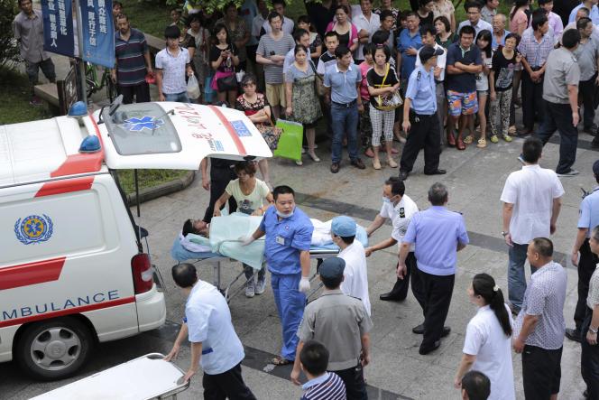 Une explosion dans une usine de l'est de la Chine a fait au moins 75 morts et 186 blessés samedi 2 août.