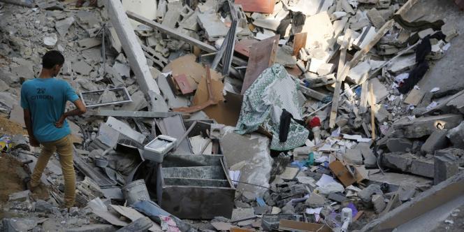 Selon le nouveau bilan des secours palestiniens, les derniers affrontements portent le nombre de victimes palestiniennes à plus de 1 640.