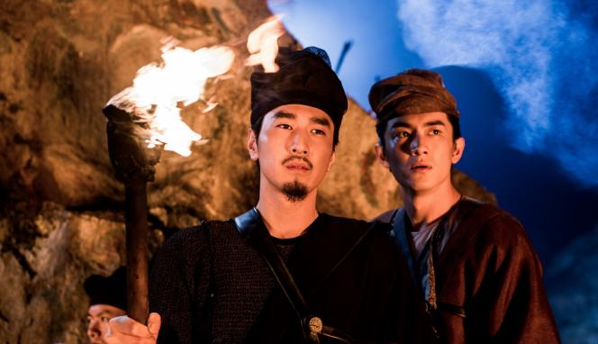 Mark Chao et Kun Chen dans le film chinois de Tsui Hark,