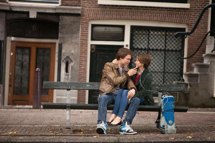 Ansel Elgort et Shailene Woodley dans le film américain de Josh Boone,