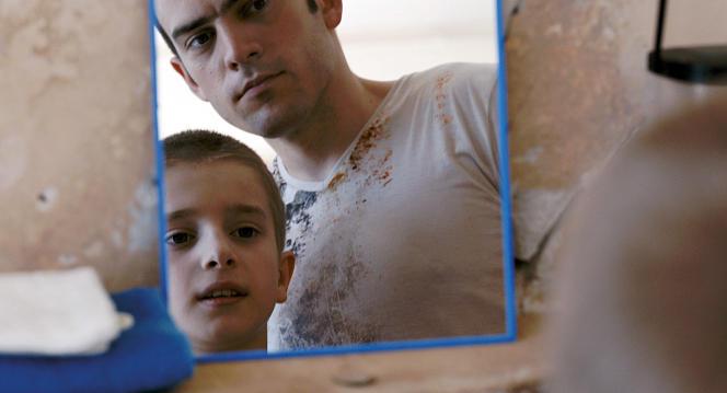 Surho Sugaipov et Ramzan Idiev dans le film français de Sarah Leonor,