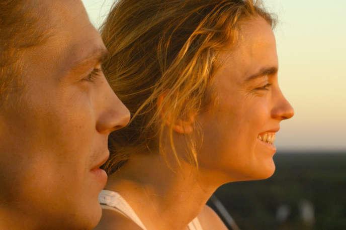 Kévin Azaïs et Adèle Haenel dans le film français de Thomas Cailley, «Les Combattants».