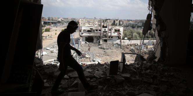 A Rafah, dans le sud de la bande de Gaza, le 5 août.