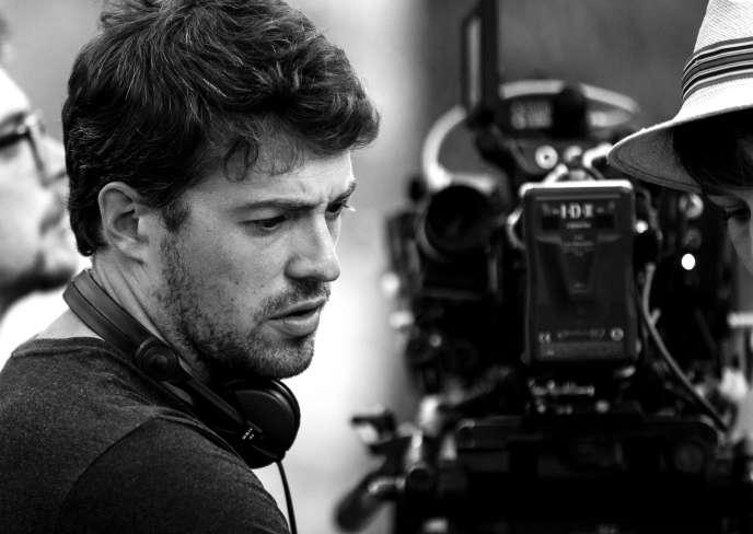 Le réalisateur Thomas Cailley sur le tournage de son film,