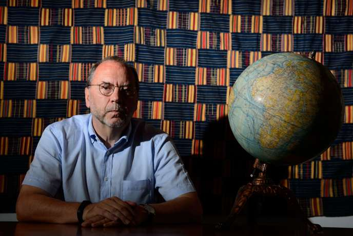Peter Piot, codécouvreur du virus Ebola en 1976.