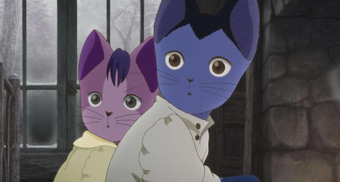 Une image du film d'animation japonais de Gisaburo Sugii,