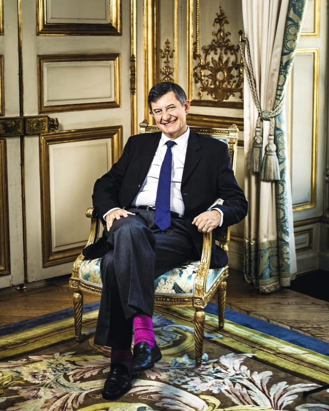 Jean-Pierre Jouyet le 18 juillet 2014 à l'Elysée.