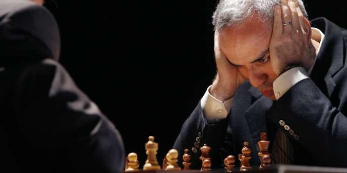 Garry Kasparov, le 22septembre2009, à Valence.