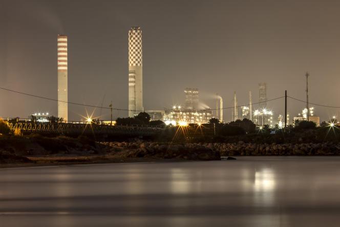 La raffinerie d'ENI à Gela, en Sicile, fait partie des sites en difficulté.