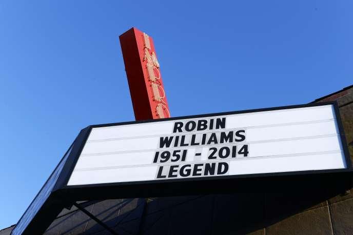 L'acteur américain Robin Williams s'illustrait aussi bien dans le registre comique que dramatique.