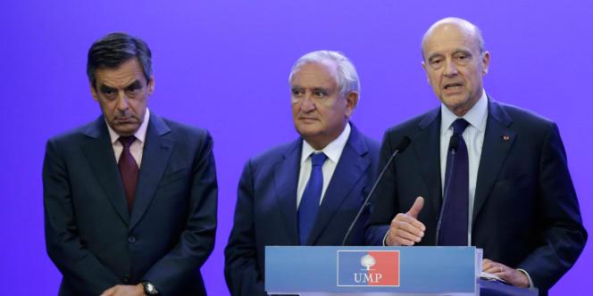 Les trois anciens premiers ministres UMP François Fillon, Jean-Pierre Raffarin et Alain Juppé appellent la France à répondre aux urgences humanitaires en Irak et à Gaza.