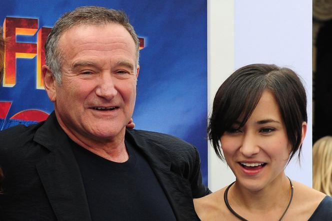 Robin Williams et sa fille Zelda en 2011.