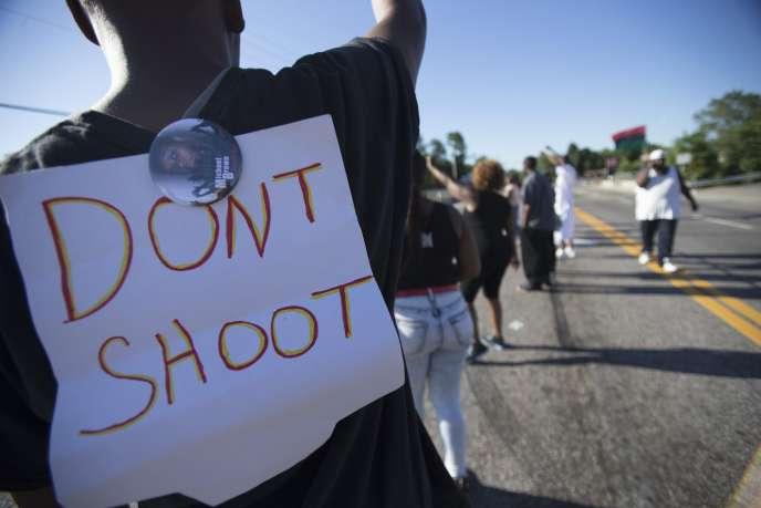 A Ferguson le 13 août.
