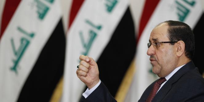 Le premier ministre irakien déchu Nouri Al-Maliki.
