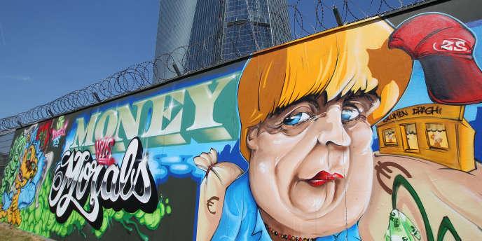 Le produit intérieur brut allemand a reculé de 0,2 % au 2e trimestre.